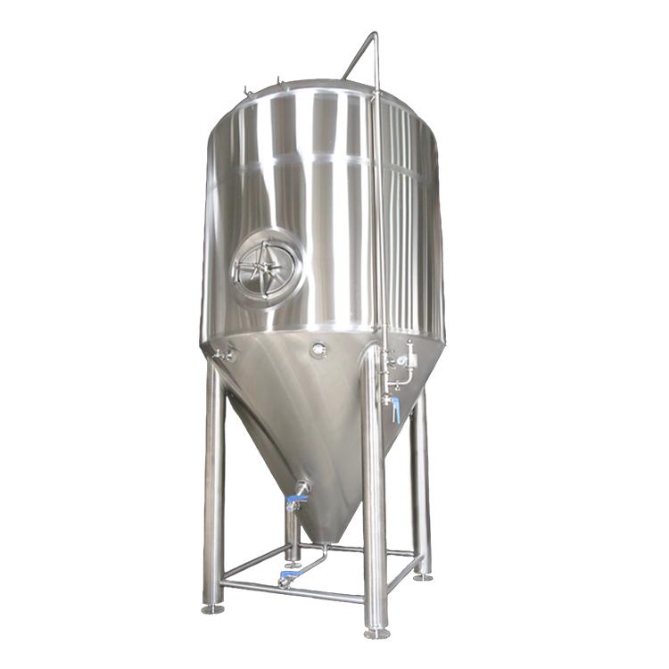 定制不锈钢啤酒发酵罐