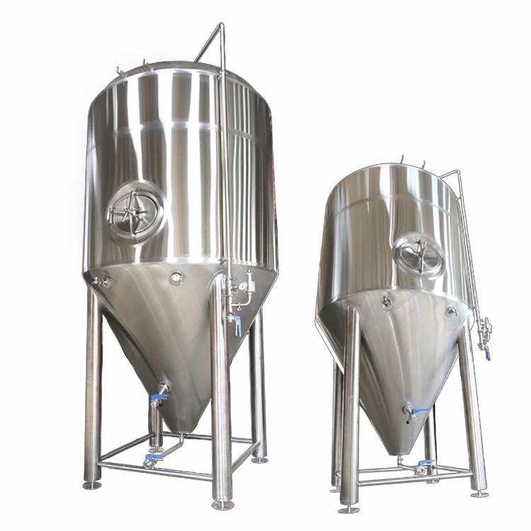 不锈钢啤酒酿造机啤酒发酵罐