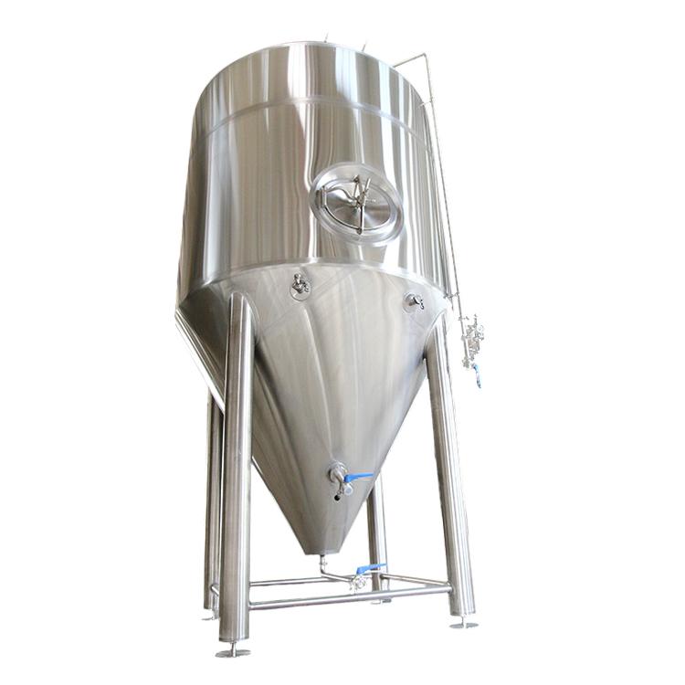 发酵罐100L 200L 500L 1000L 2000L 20HL 3000L 5000L啤酒厂 锥形发酵罐