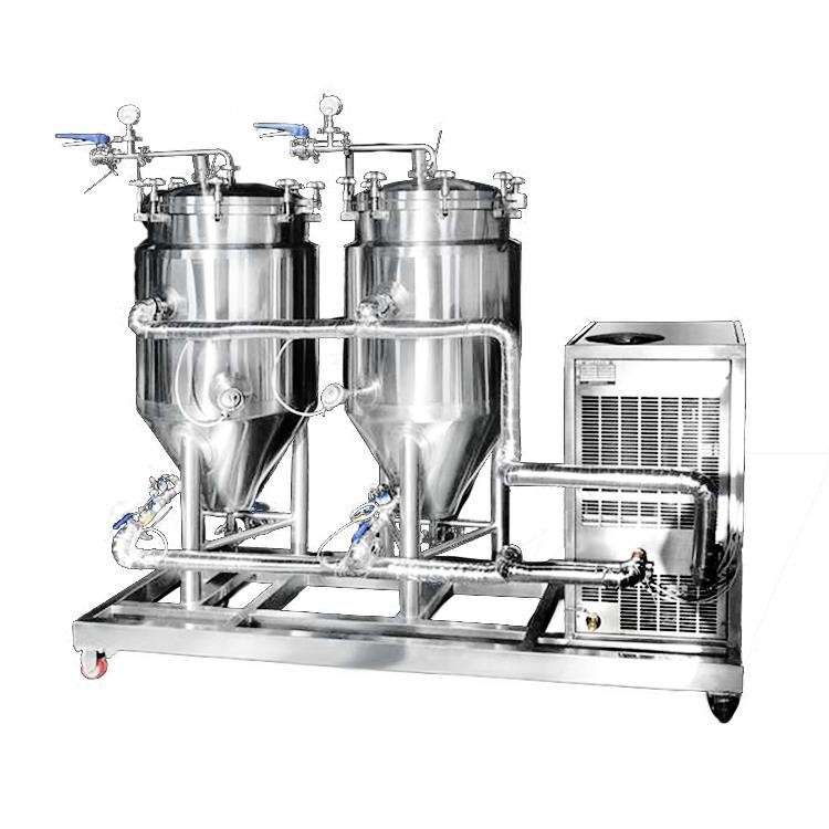 200L啤酒酿造设备酿酒厂