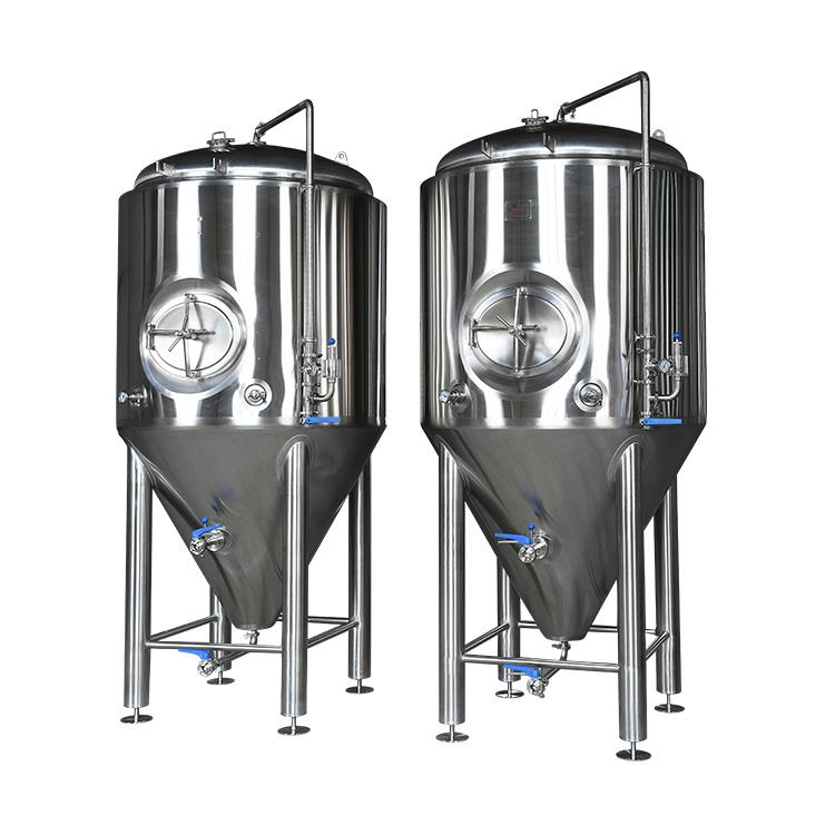 啤酒厂发酵罐定制啤酒酿造设备精酿啤酒交钥匙工程
